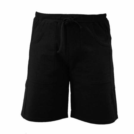 Black Jersey short